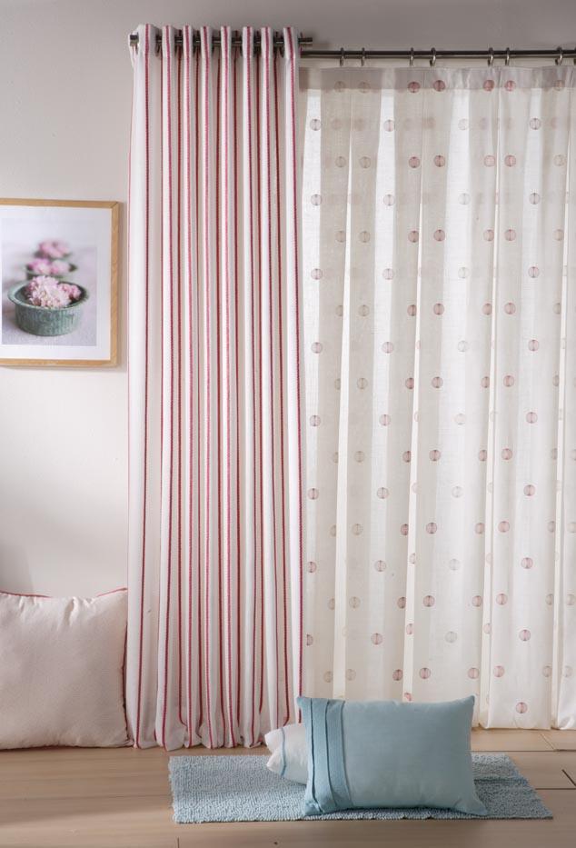 Como poner unas cortinas best decorar con visillos que - Como poner unas cortinas ...